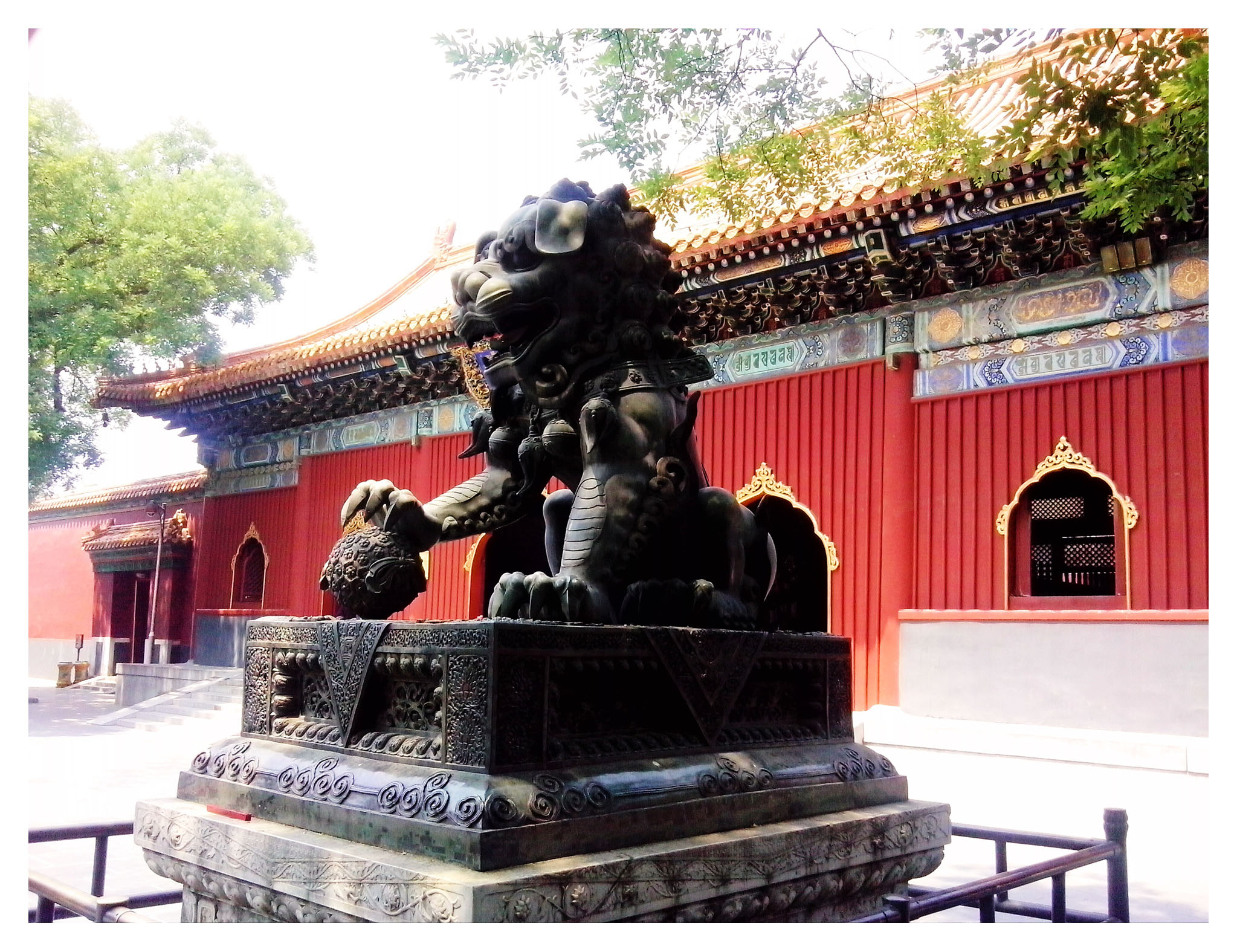 leon dog ming tombs